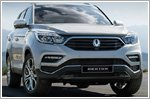 Ssangyong unveils the all new Rexton