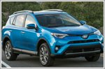 Toyota presents RAV4 Hybrid to heroic soldier at New York Auto Show