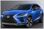 Lexus unveils the refreshed 2018 NX at the Shanghai Motor Show