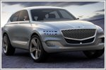 Genesis reveals GV80 fuel cell concept SUV at the New York Auto Show