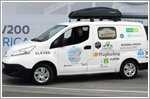 Nissan e-NV200 goes on European electric tour