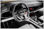 Audi Q8 sport concept features Android system