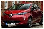 Renault ZOE Dynamique at Shelsley Walsh Hill Climb