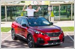 Doubles hero Jamie Murray welcomes new partner - the Peugeot 3008 SUV