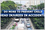 Do more to prevent child head injuries in traffic accidents: Docs