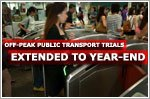 Off-peak public transport trial schemes extended to year-end