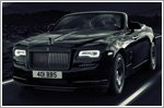 Rolls-Royce Dawn Black Badge at Goodwood