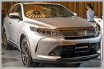 The launch of the new turbocharged Toyota Harrier