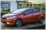 2017 Kia Forte awarded Top Safety Pick Plus rating in the U.S.A