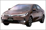 Borneo Motors Singapore launches the facelifted Toyota Altis