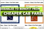People with disabilities to benefit from cheaper cab fares