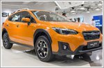 Subaru launches the all new XV crossover in Singapore