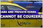 Cabbies, private-hire drivers cannot do courier jobs: LTA