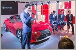 Lexus launches LC luxury coupe in Singapore
