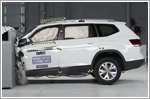 2018 Volkswagen Atlas awarded 2017 Top Safety Pick rating by IIHS