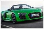 Audi R8 Spyder V10 Plus makes U.S.A debut