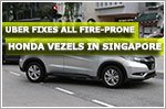 Uber's fire-prone Honda Vezels fixed