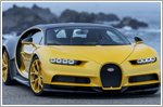 Bugatti delivers first Chiron to a customer in the U.S.A at Pebble Beach