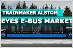 Trainmaker Alstom eyes e-bus market