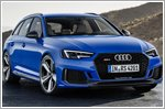 Audi debuts the new RS4 Avant in Frankfurt