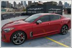 Kia makes fashion statement in New York with Stinger runway racing challenge