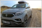 First new SsangYong Rextons arrive in the U.K. after 13,000km 'test drive'