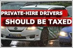 Private-hire drivers should be taxed with 'fairer approach', says NPHVA