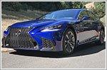 Lexus launches the new LS flagship sedan