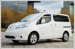 Nissan premieres new longer range e-NV200 van