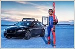 Olympic skier and Jaguar smash towing world record