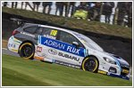 Ash Sutton wins BTCC in Subaru Levorg