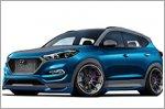 Hyundai Vaccar Tucson Sport concept for SEMA Show