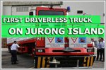 Driverless truck hits the roads on Jurong Island