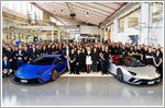 Lamborghini reaches new production records for the Aventador and Huracan