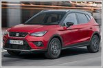 Seat Arona receives five star Euro NCAP rating