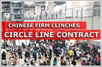 Chinese firm clinches Circle Line contract