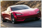 The unveiling of the new Tesla Roadster