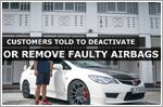 Fix faulty airbag? Just take it out, some told