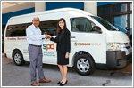 Eurokars Group donates vehicle to SPD