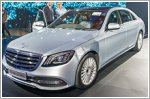 Mercedes-Benz S-Class arrives here in style