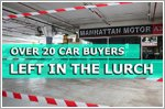 Over 20 vehicle buyers left in the lurch by firm