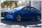 Hyundai donates Ioniqs to National Park Service