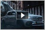 Mercedes-Benz X-Class in advert launches worldwide