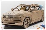 Skoda creates cardboard Karoq SUV