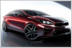 Kia Motors releases all new Forte renderings
