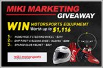 Miki Marketing aftermarket parts worth up to $1,116 to be won