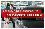 Used car dealers posing as owners to sell cars
