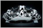 World premiere: Bugatti's brake caliper from 3D printer