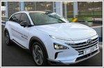 Hyundai showcases self-driven fuel cell vehicle