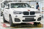 The first BMW X4 takes its leave